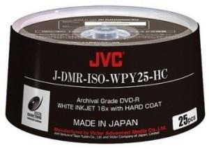 DVD Vierge ARCHIVAL GRADE